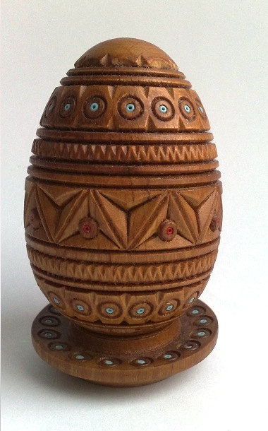 Wooden egg 2